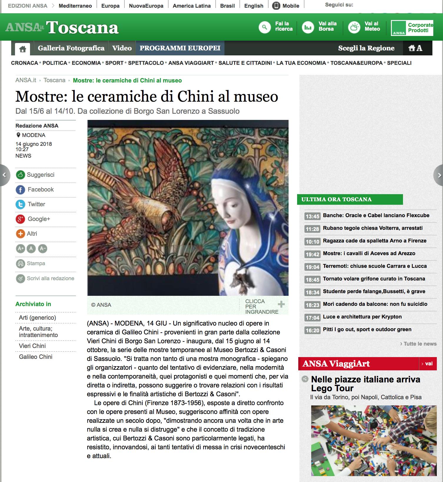 Press – Museo Bertozzi & Casoni